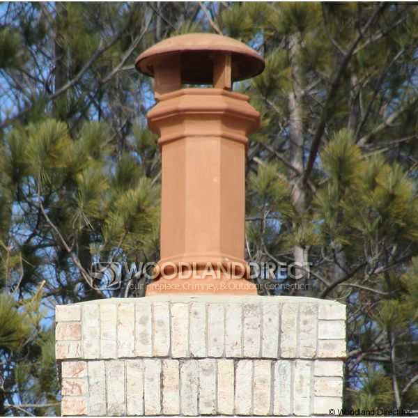 Superior Baron Clay Chimney Pot image number 1