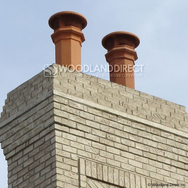 Superior Baron Clay Chimney Pot image number 2