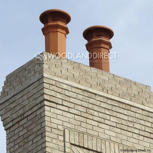 Superior Baron Clay Chimney Pot image number 2