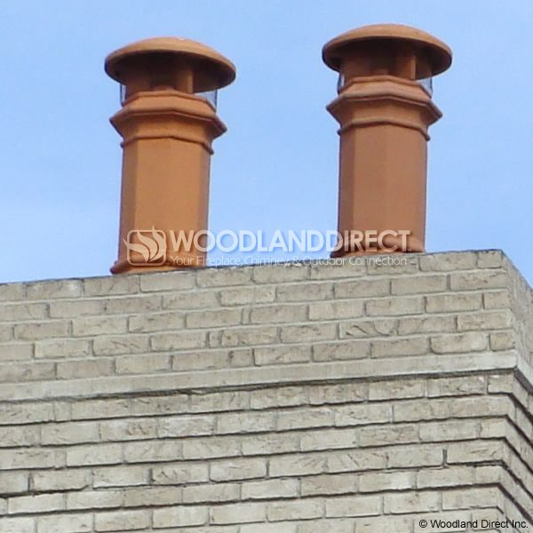 Superior Baron Clay Chimney Pot image number 3