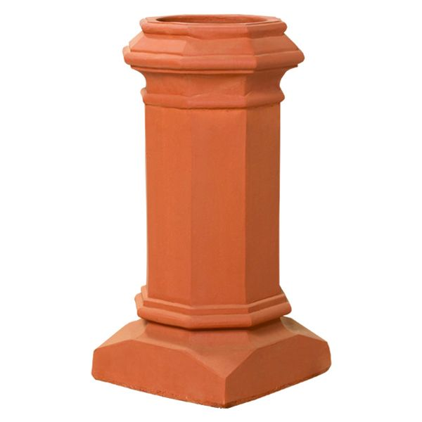 Superior Baron Clay Chimney Pot image number 0