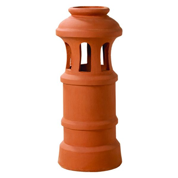 Superior Beacon Clay Chimney Pot image number 0