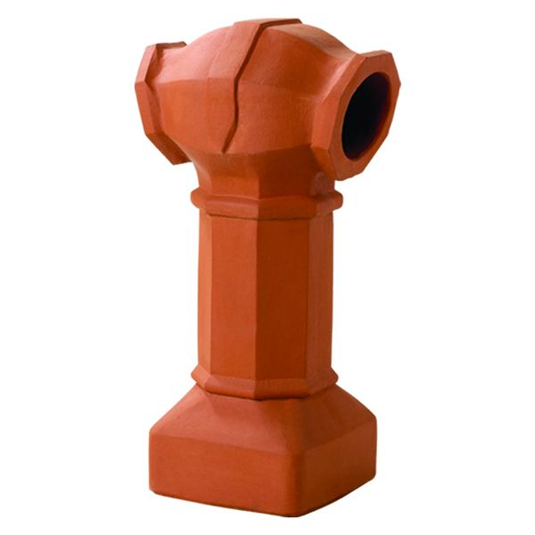Superior Belmont Clay Chimney Pot image number 0