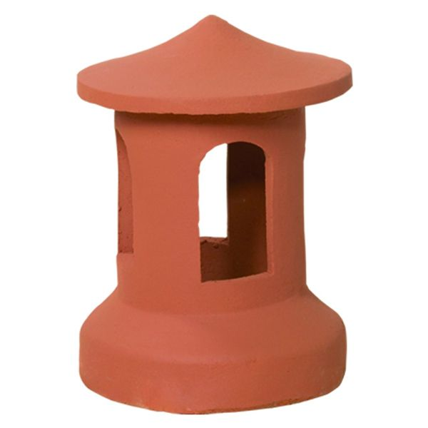 Superior Bird Cage Clay Chimney Pot image number 0