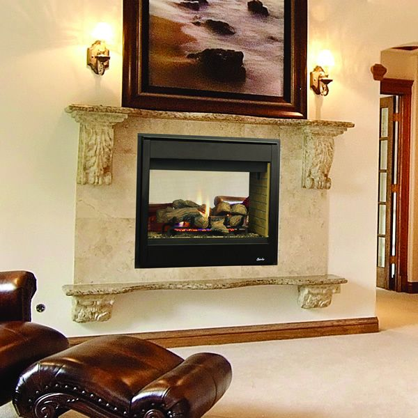 Superior DRT35ST Direct Vent See Through Gas Fireplace image number 0
