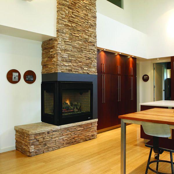 Superior DRT40CR/L Direct Vent Corner Gas Fireplace image number 0