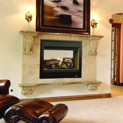 Superior DRT40ST Direct Vent See Through Gas Fireplace