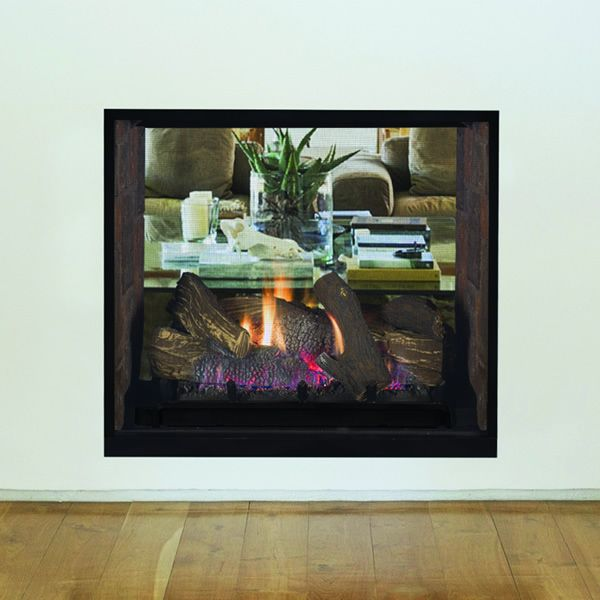 Superior DRT63ST Direct Vent See Through Gas Fireplace image number 1