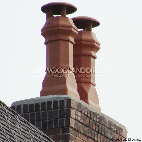 Superior Edwardian Clay Chimney Pot image number 2