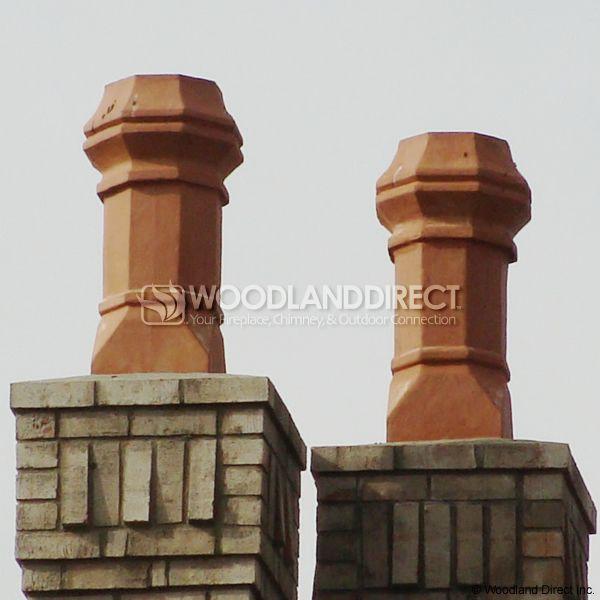Superior Edwardian Clay Chimney Pot image number 3