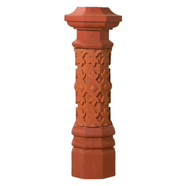 Superior Fairmont Clay Chimney Pot image number 0
