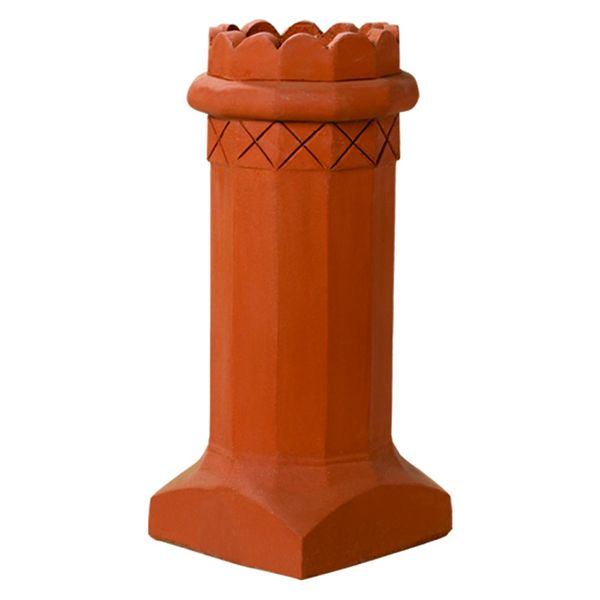 Superior King Arthur Clay Chimney Pot image number 0