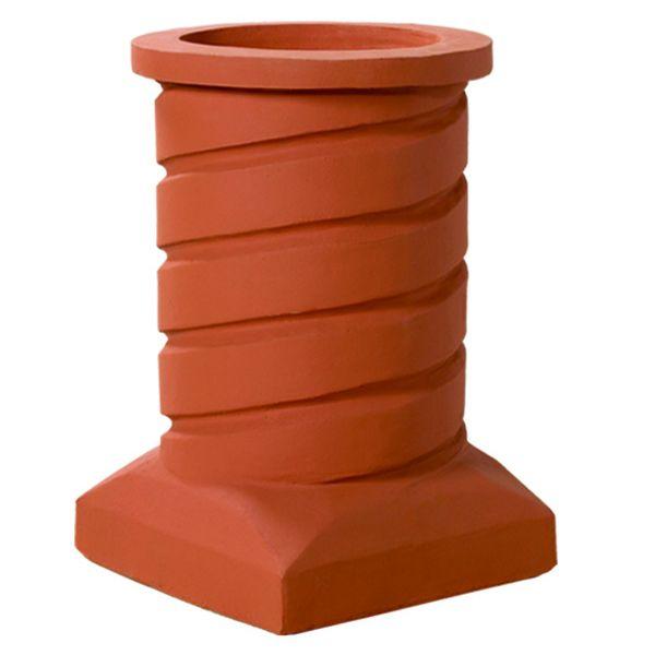 Superior Hanover Clay Chimney Pot image number 0