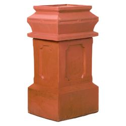 Superior Large Governor Clay Chimney Pot