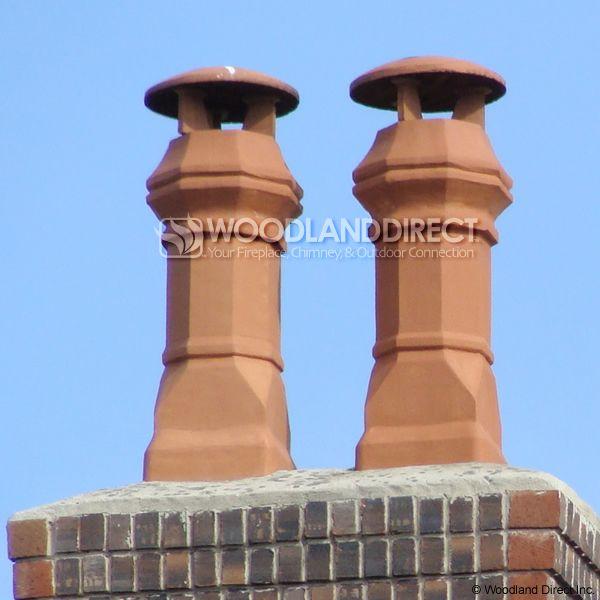 Superior Large Edwardian Clay Chimney Pot image number 1