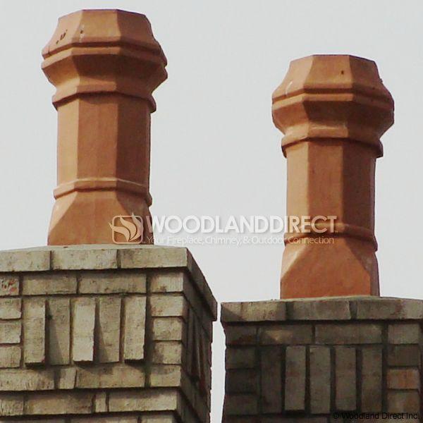 Superior Large Edwardian Clay Chimney Pot image number 2