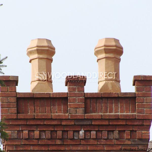 Superior Large Edwardian Clay Chimney Pot image number 3