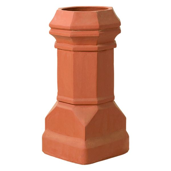 Superior Large Edwardian Clay Chimney Pot image number 0