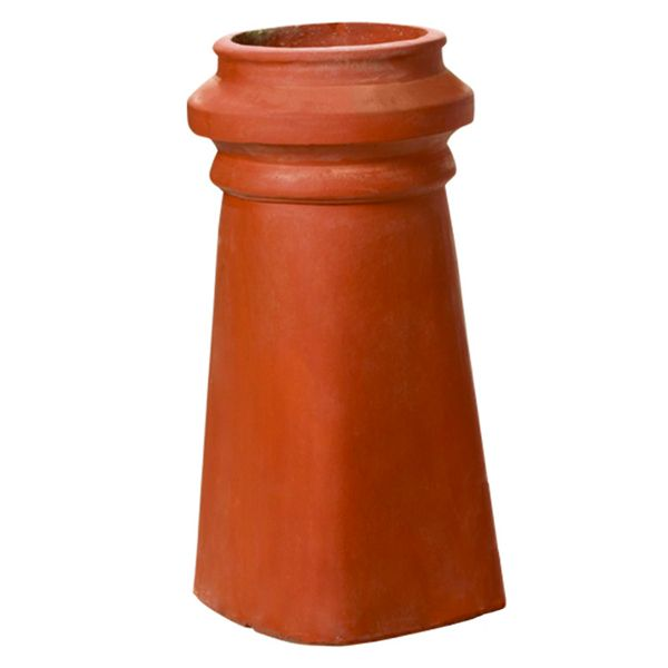 Superior Large Kensington Clay Chimney Pot image number 0