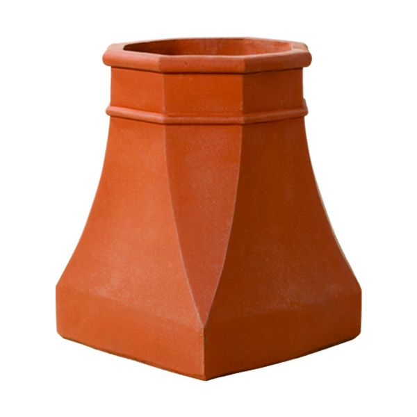 Superior Large Halifax Clay Chimney Pot image number 0