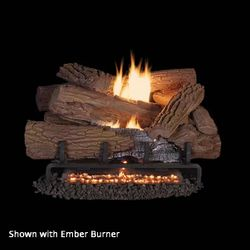 Superior Mossy Oak Outdoor Ventless Gas  Log Set