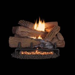 Superior Mossy Oak Ventless Gas Log Set