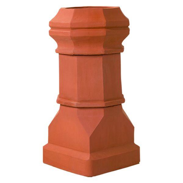 Superior Magnum Edwardian Clay Chimney Pot image number 0
