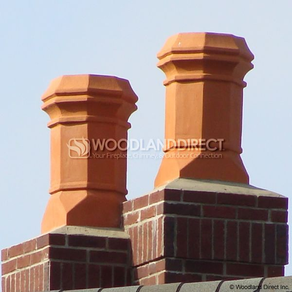 Superior Magnum Edwardian Clay Chimney Pot image number 1