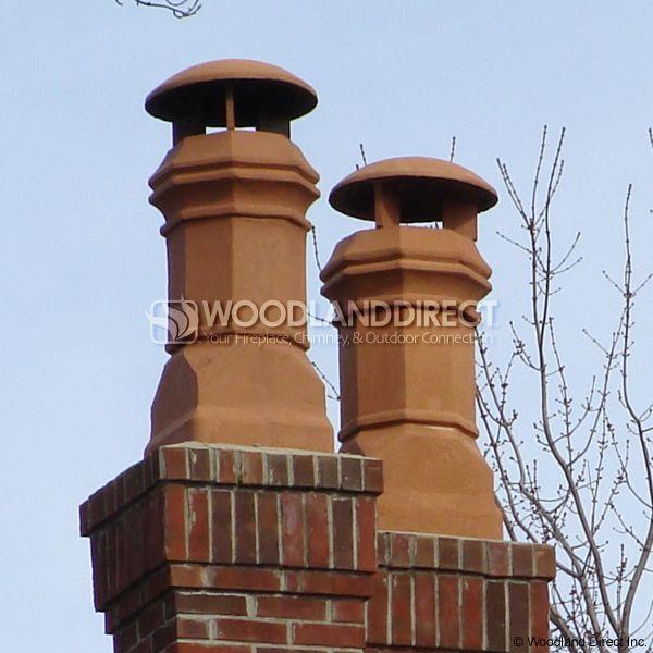 Superior Magnum Edwardian Clay Chimney Pot image number 3