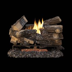 Superior Massive Mixed Oak Ventless Gas Log Set