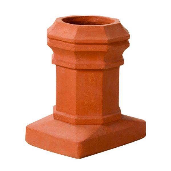 Superior Mini Edwardian Clay Chimney Pot image number 0