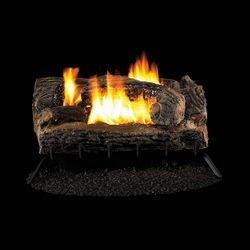 Superior Multi-Sided Ventless Gas Log Set