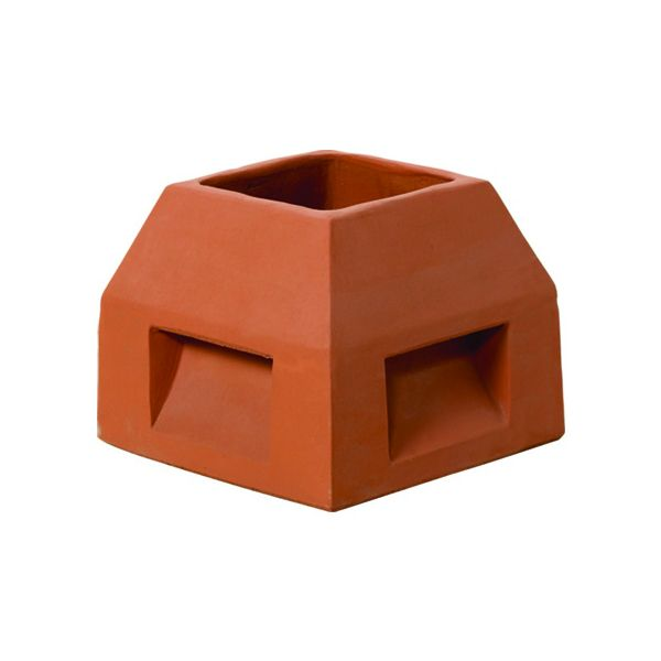 Superior Small Mansard Clay Chimney Pot image number 0