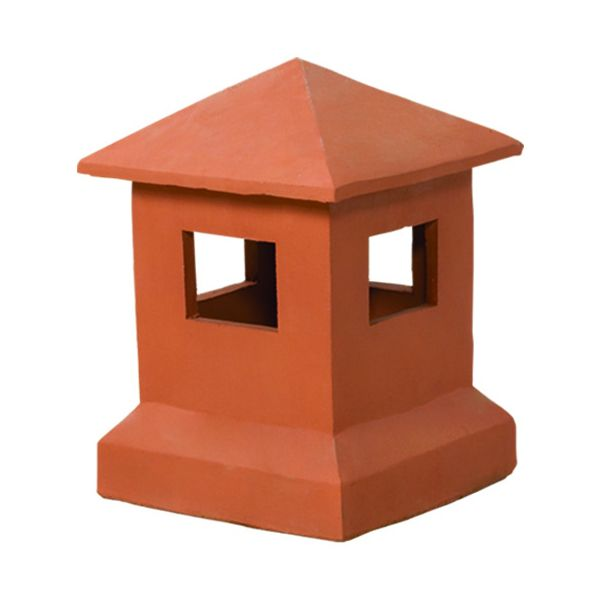 Superior Sentry Clay Chimney Pot image number 0