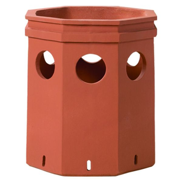 Superior Sherwood Clay Chimney Pot image number 0