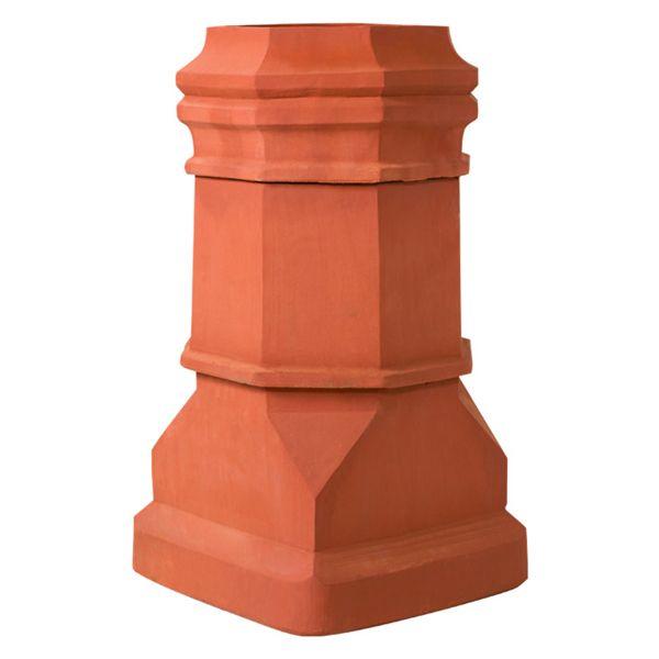 Superior Super Magnum Edwardian Clay Chimney Pot image number 0