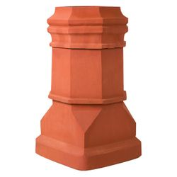 Superior Super Magnum Edwardian Clay Chimney Pot