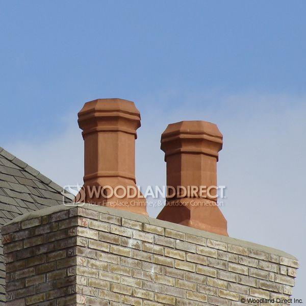 Superior Super Magnum Edwardian Clay Chimney Pot image number 2