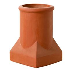 Superior Plaza Clay Chimney Pot