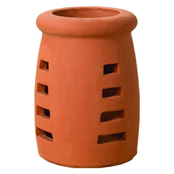 Superior Queen Anne Clay Chimney Pot image number 0