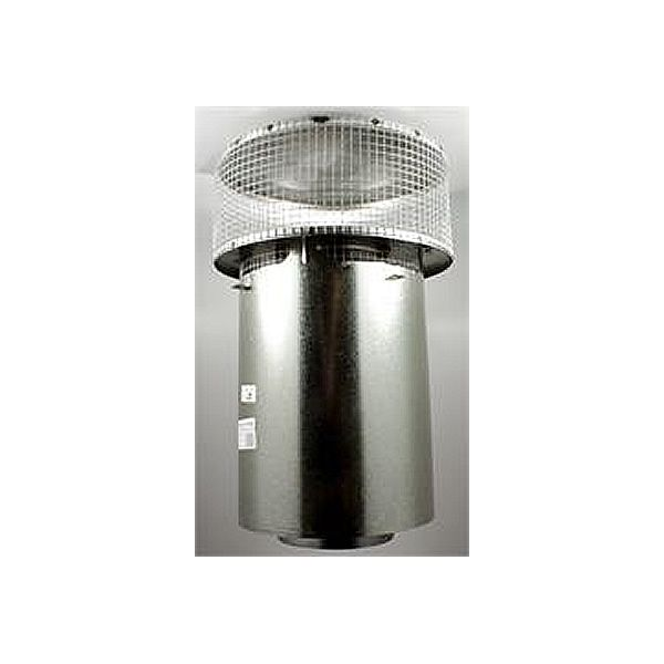 Superior Round Top Telescoping with Mesh Screen image number 0
