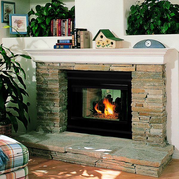 Superior WRT35ST See Through Wood Burning Fireplace image number 0