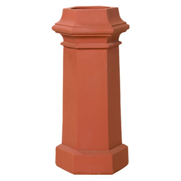 Superior Willow Clay Chimney Pot image number 0