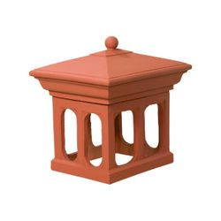Superior Tuscan Clay Chimney Pot