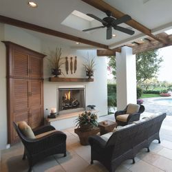 Superior VRE3200 Gas Outdoor Fireplace
