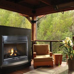 Superior VRE4300 Gas Outdoor Fireplace
