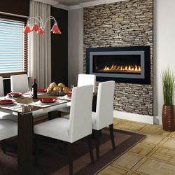 """Superior VRL4543 Ventless Linear Gas Fireplace - 43"""""""