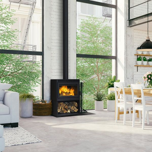 Supreme Novo 24 Wood Burning Stove image number 0