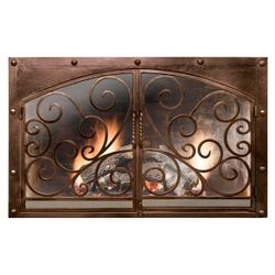 Symphony Fireplace Door