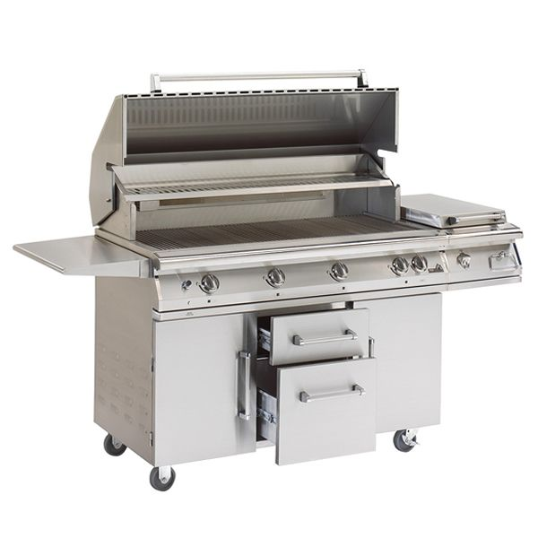 PGS Big Sur S48R Cart-Mount Gas Grill image number 0